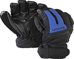 Burton Men Gore Tex Under Gloves (S) True Black / Mascot / Bog