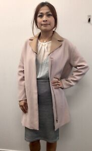 COS Blush Ladies Pink Trench  - Labelled size 36, AU 10-12