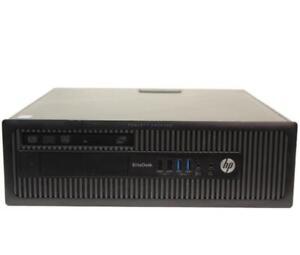 HP 800 G1 EliteDesk, Core i5-4570, 8GB RAM, Win 10 Pro, 3 Mth Wty