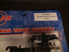 O-SCALE ATLAS #66031 ROLLER BEARING CABOOSE TRUCKS ASSEMBLY 3 RAIL