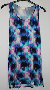 Monsoon Accessorize Tie Dye Effect Tunic Dress Size L