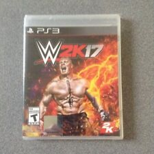 PS3 WWE 2K17 (2K, Sony PlayStation 3, 2017) NEW & Sealed