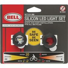 Bike & Bicycle LED Light Set Bell Sports 2 lights 1 red 1 clear 7070571