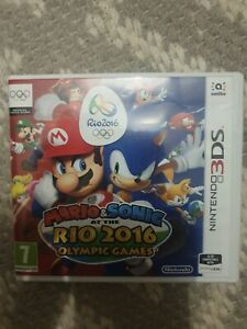 Mario & Sonic at the Rio 2016 Olympic Games  Nintendo 3DS Great Condition