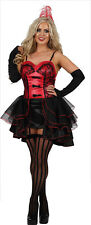 Womens Sexy Burlesque Wild West Showgirl Can Can Fancy Dress Costume Outfit (FO)