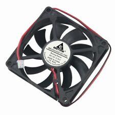 5pcs DC 12V 8cm 80mm 80x80x15mm Brushless PC CPU Computer Cooling Case Fan 2pin