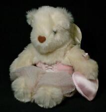 Vintage 12� Avon Cream Teddy Bear With Angel Wings