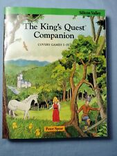 The King's Quest Companion by Peter Spear Paperback Book   ---  FREE SHIPPING