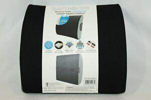Samsonite Memory Foam & Cooling Gel Lumbar Support Cushion ~NEW~