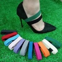 Ladies Anti-loose High Heels Elastic Shoe Strap Shoelaces Accessory Buckle Multi