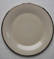 LENOX  SNOW  LILY  Dinner Plate  10 3/4 inches    Platinum Trim    MADE IN USA
