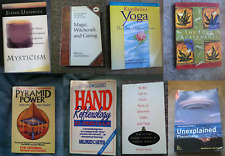 Lot of 8 Metaphysical Books Magick Witchcraft Reflexology Yoga