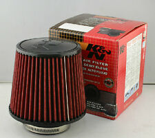 K&n Universal Filtro De Aire Inducción Cono Rojo Kit Sports Racing