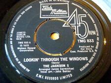 """El Jackson 5-viendo a través de las ventanas 7"""" Vinilo"""