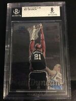1997-98 Stadium Club #201 Tim Duncan Rookie San Antonio Spurs BGS 8