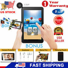 "9"" or 7"" Inch Tablet PC Android 8.1 Quad Core 8GB 1GB RAM HD WIFI Dual Camera US"