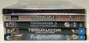 TERMINATOR 1-5 1984-2015 Judgment Day/Salvation/Rise of The Machines   Genisys