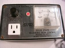 HEXACON SOLDER IRON CONTROLLER MODEL TC871