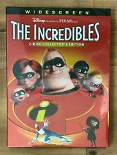 Disney/Pixar: The Incredibles Dvd Collectors Edition (Free Shipping / Brand New)