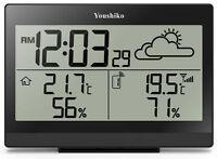 Weather station with MSF Radio Control Clock ( UK version )  Indoor / Outdoor