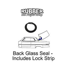 1950 Dodge Back Glass Seal - Includes Lock Strip