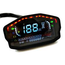 Universal Motorcycle  LCD Speedometer Digital Odometer Cylinders