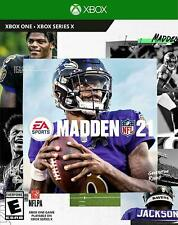 Madden Nfl 21 Ea Sports (Microsoft Xbox One Xb1) Brand New Sealed