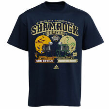 Notre Dame vs. Arizona 2013 Shamrock Series Adidas Medium T New Factory Sealed