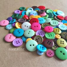 50g Pack of Assorted Buttons