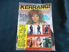 Kerrang! Magazine Issue 177 March 5th 1988 Whitesnake Coverdale