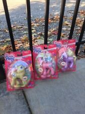 3 my little ponies new toodleloo, spring treat, doseydotes. 2003 vintage