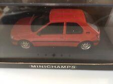 Peugeot 306 3p 1995 Rouge Minichamps 1:43