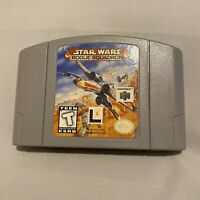*acceptable* Star Wars Rogue Squadron Nintendo 64 N64 Authentic Clean