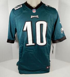 New Mens Philadelphia Eagles DeSean Jackson #10 Green Game Jersey L Nike NWT