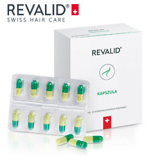 Revalid 90 capsules for hair loss treatment Swiss Made