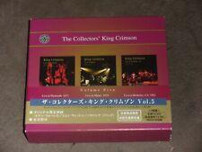 Collectors' King Crimson Box Vol 5 Japan 3-CD Set