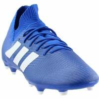 adidas Nemeziz 18.3 Firm Ground  Casual Soccer  Cleats - Blue - Mens