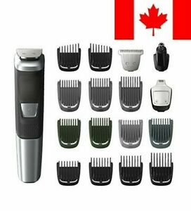 Philips Multigroom Series 5000 Corded/Cordless with 17 Trimming Accessories, ...