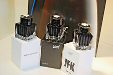 MONTBLANC INK INKWELL LIMITED EDITION JFK INK 3 bottles