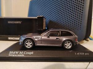 Minichamps BMW M Coupe Metallic Grey 1:43