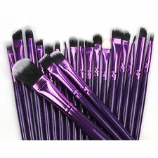 20pcs Makeup Brush Powder Foundation Eyeshadow Eyeliner Lip Brushes Set Kit