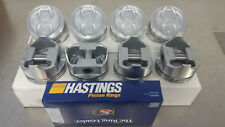 "Ford 289 302 .140"" Dish Pistons & Hastings Moly Rings 68-76 SBF Small Block"
