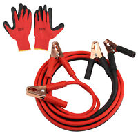 HEAVY DUTY EXTRA 3.8 METRE TRADE 800AMP CAR VAN TRUCK JUMP LEADS BOOSTER CABLES