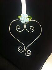 Wedding Charm Beautiful Silver Heart/Horseshoe charm Bridal/Bridal Party