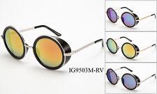 Vintage Retro Mirror Round SUN Glasses Goggles Steampunk Punk Sunglasses s