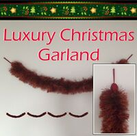 Stunning Luxury Christmas Garland - Forget Tinsel - Quality Decorations for Xmas