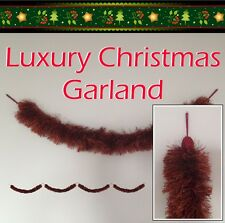 Two Stunning Luxury Garland - Forget Tinsel - Quality Decorations for Christmas