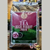 Mlesna PEKOE  Ceylon tea Pure Black Tea High Forest Nuwara Eliya 500 g Loose