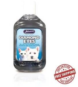 Johnsons Dog & Cat Diamond Eyes Tear Remover Stain 125ml