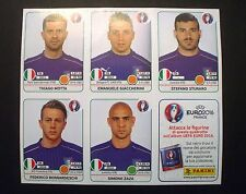 SET 5 FIGURINE EXTRA STICKERS UPDATES ITALIA ITALY PANINI EURO 2016